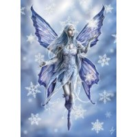 Snowflake Fairy Yule Card 6 Pack