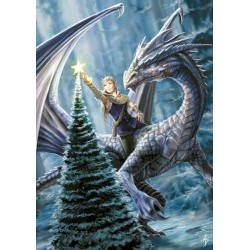 Winter Fantasy Yule Card 6 Pack