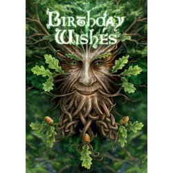 Anne Stokes Birthday Card 6 Pack - Oak King