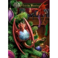 Little Helpers Yule Card