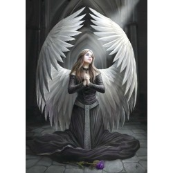 Anne Stokes Angel Card 6 Pack - Prayer for the Fallen