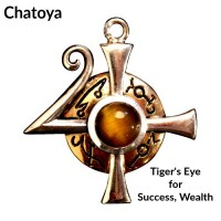 Briar Gemstones - Chatoya, Tiger Eye for Success