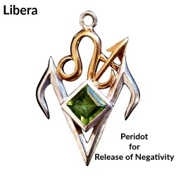 Briar Gemstones - Libera, Peridot for Release Negativity