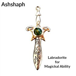 Briar Gemstones - Ashshaph, Labradorite for Magickal Ability