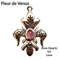 Briar Gemstones - Fleur De Venus, Rose Quartz for Love