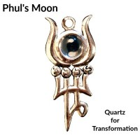 Briar Gemstones - Phul's Moon, Quartz for Transformation