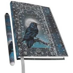 Raven Book of Shadows with Pen by Luna Lakota