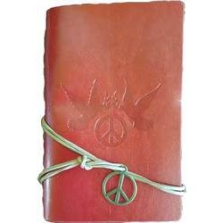 Peace journal in Red