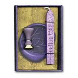 Triquetra Wicca Seal & Wax
