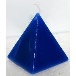 Pyramid Candle, Blue Jasmine 2 1/2""