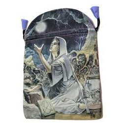 """Drawing Down the Moon Tarot Bag by Lo Scarabeo 6"""" x 9"""""""