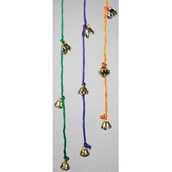 """Celestial Bell String Assorted Colors (1/2"""" bells)"""