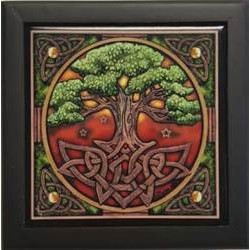 "Tree of Life Box 5"" x 5"" x 2.75"""