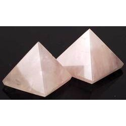 Rose Quartz Pyramid 30-40mm