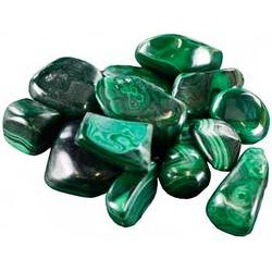 Malachite Tumbled Stones 1 lb