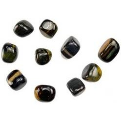 Blue Tiger's Eye Tumbled Stones 1 lb