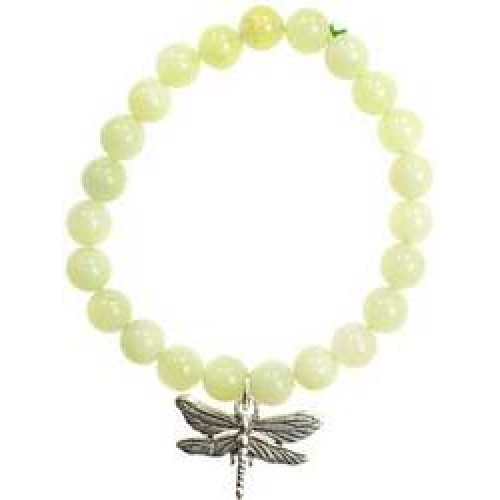 New Jade Serenity Dragonfly Silver