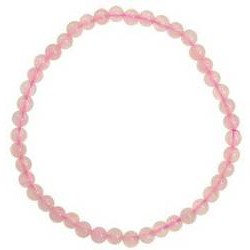 Rose Quartz 4mm Stretch Bracelet