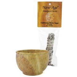 Scrying Bowl or smudge Pot 4""