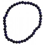 Lapis 4mm Stretch Bracelet