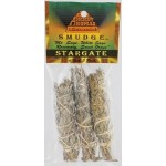Stargate smudge stick 3pk 4""