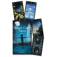 Tarot Deck & Book - Black Cats by Maria Kurarai