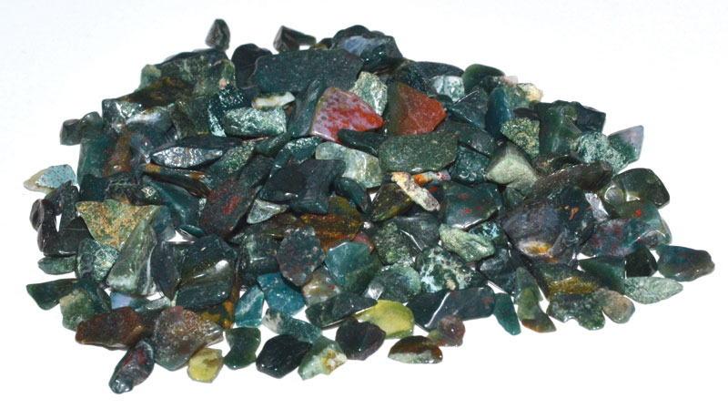 Bloodstone Tumbled Chips